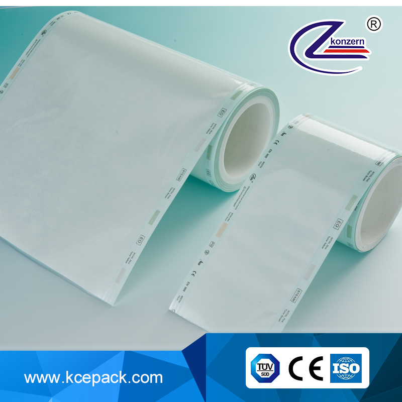 sterilizaition pouch medical supply / new products sterilization flat roll dental