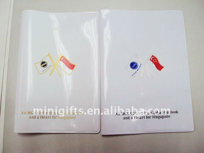 pvc waterproof passport holder
