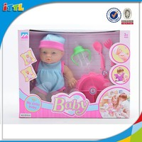 New fashion doll lovely newborn baby doll set with EN71