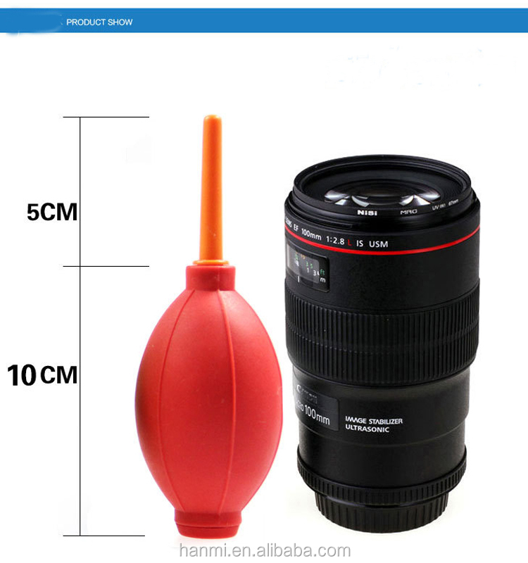 Colorful convenient camera cleaning air blower for camera lens or computers