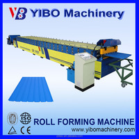 Steel Tile Type and Roof Use double layer roll forming machine