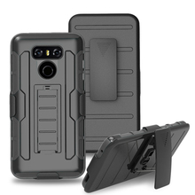 New 2017 Arrivals Shockproof kickstand Armor Combo Phone Mobile Case For LG G6