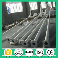 street light pole, light pole production line