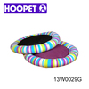 Pet products colorful cheap stripe pattern mat puppy girl dog beds