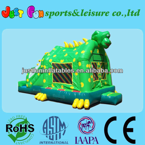 dinosaur inflatable castle combo jumper