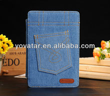 New Jeans Denim Case for iPad mini Light Blue