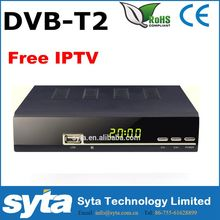 Lateset <span class=keywords><strong>hd</strong></span> receptor digital <span class=keywords><strong>hd</strong></span> dvb-t/t2 soporte envío universal iptv set top box