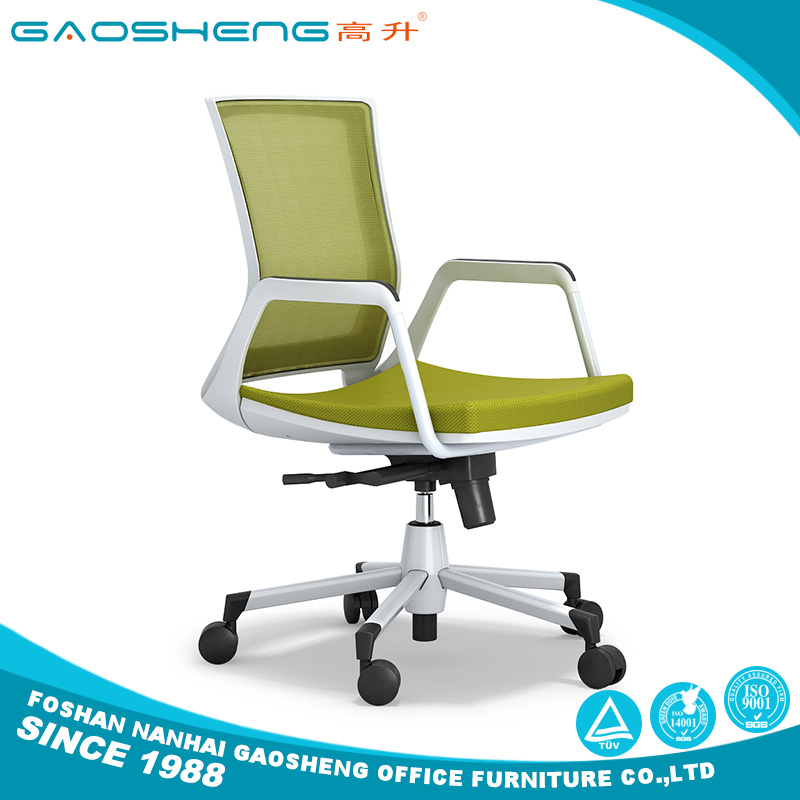 China factory ergonomic staff task middle back Mesh office clerk chair with low price