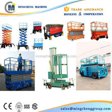 Good Quality mini scissor lift self-propelled diesel scissor lift