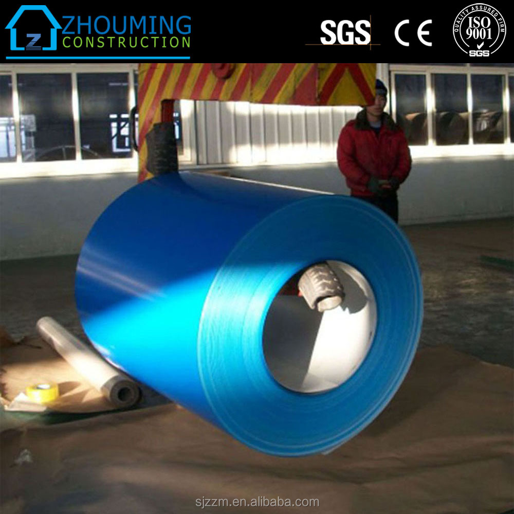 China supplier Manufacture Ppgi coils from shandong Color Coated Steel Coil PPGI Hot Sale Boat for sale container house
