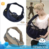 Wholesale most popular products simple design comfortable fashion strap breathable baby carrier sling wrap