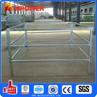 Hot Dipped Galvanized Cattle Panel Fence metal horse fence panel
