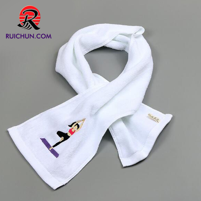 Wholesale gym extended cotton 20 * 110cm running sports cotton towel