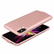 New Product 5200 Mah Magnetic Charger Case For Iphone X,Mobile Phone Charging Case For Apple