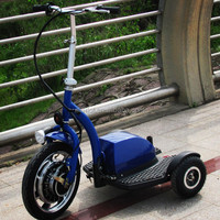 500w brushless 3 wheels electric cars for one person