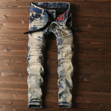 High Quality Washed Skinny Comfortable Men Jeans For Wholesale