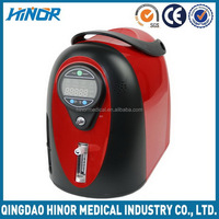 Lightweight home use oxygen concentrator for health care