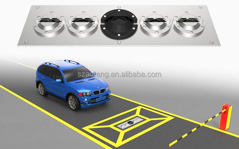 Under Car bomb detector, Under Vehicle Inspection System, UVSS AT3300 with clear image.