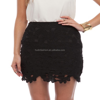 2014 OEM factory new design girls lace mini skirts photos