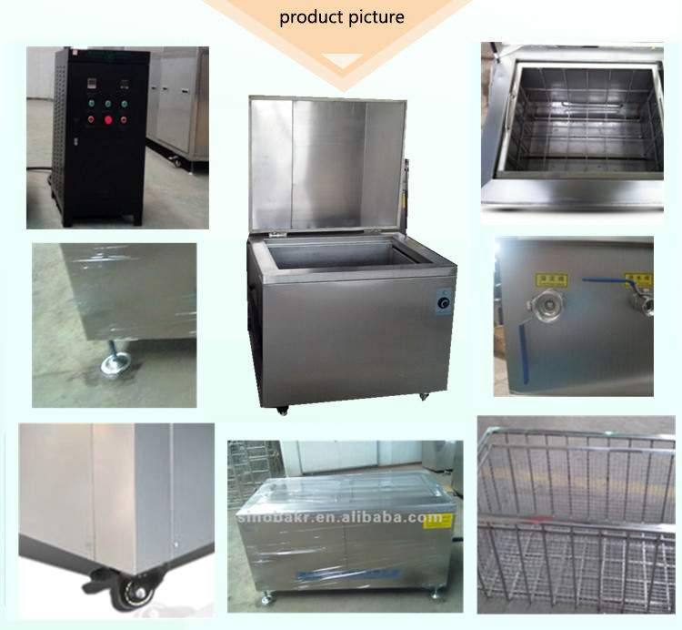 2017hot sale BK-6000E General auto engine parts clean machine used industrial ultrasonic cleaner