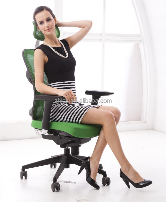 High back ergonomic office mesh chair
