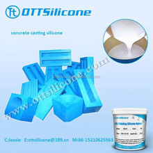 Low Viscosity Liquid Silicone For Making Concrete Moulds
