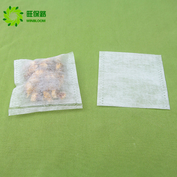 NO MOQ Customized heatseal empty filter paper disposable tea bags