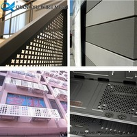 sound proof material light weight 304 316 stainless steel perforated metal mesh