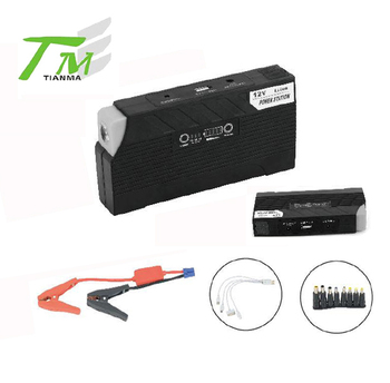 4 in 1 rechargeable lithium battery mini jump starter
