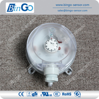 Air differential pressure switch for air ventilation systems