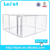 wholesale chain link box mesh solid metal dog kennel