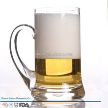 Sanzo Custom Glassware Manufacturer malaga club de futbol beer glass
