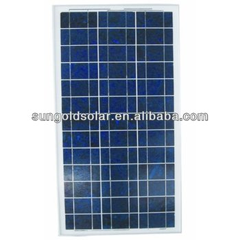 solar cells solar panel poly 60w18v with cable and plug