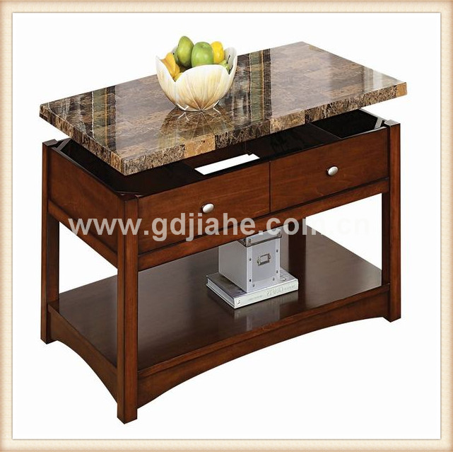 r glable carr hauteur table basse dessus en marbre table. Black Bedroom Furniture Sets. Home Design Ideas