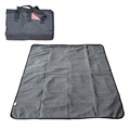 Zip up Fleece Picnic Blanket with Customized Size