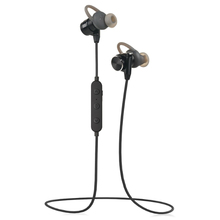 Mini Metal waterproof sport wireless stereo bluetooth headphone with Mic