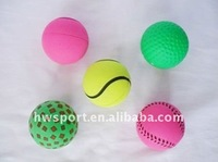 sponge rubber bouncy balls