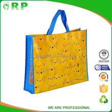 Factory wholesale foldable eco grocery pp cheap nonwoven bag for cloth packing