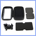 Bike Phone Mount Waterproof Universal Case Bicycle & Motorcycle Mount Cradle Holder for Smart Phones 4.4-6.3""