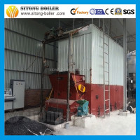 wood waste solid fuel wood fired thermal oil boiler or wood thermal oil heater