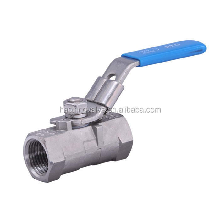 HIGH QUALITY Ball Valve with ISIO/CE and no leak 1Pc Design Screwed End F/F