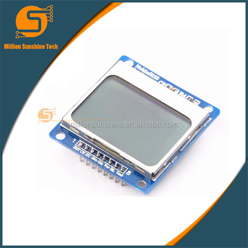 5110 Character LCD Module Display 8448 5110 lcd