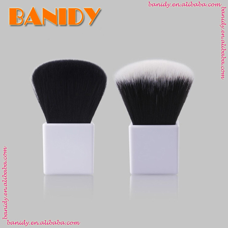 2017 New Aluminium Plactis Handle Facial Kabuki Brush