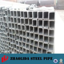 Gold supplier thin wall shs welded square tube steel metal