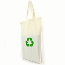 Wholesale Reusable 5oz Natural Cotton Tote Fabric Recycle Bag For Promotion