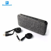 2017 Best Consumer Electronics CE RoHS Outdoor Mini Bluetooth Speakers with Mega Bass RS600
