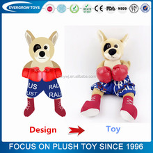 Professional quality customized animal stuffed plush toy