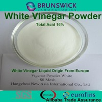 Vinegar powder Total Acid 16% white or dark vinegar high quality to Europe