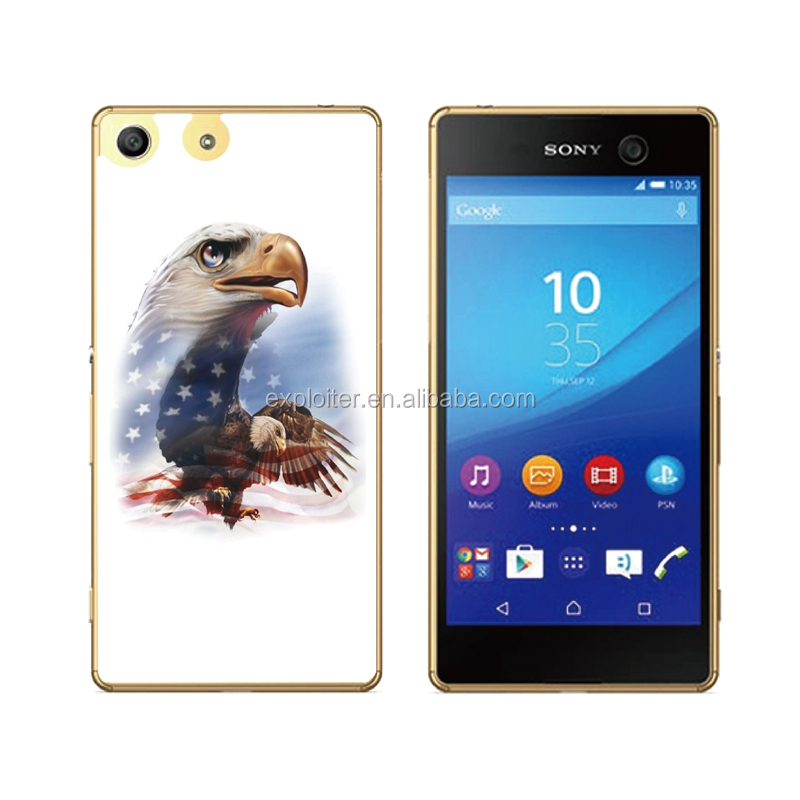 Ultra thin soft plastic epoxy back cover case for sony xperia z1