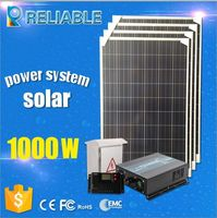 1000W HOME SOLAR POWER SYSTEM